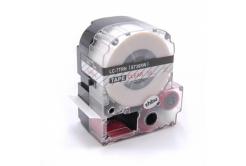 Epson LC-ST36RW, 36mm x 8m, červený tisk / průhledný podklad, kompatibilní páska