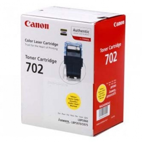 Canon CRG-702 yellow original toner