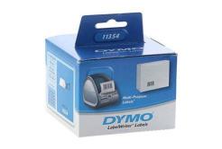 Dymo 11354, S0722540, 57mm x 32mm, bílá, 1000 ks, originální papírové štítky
