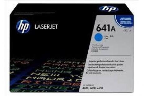HP 641A C9721A cián (cyan) eredeti toner