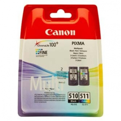 Canon PG-510 + CL-511 sada originální cartridge