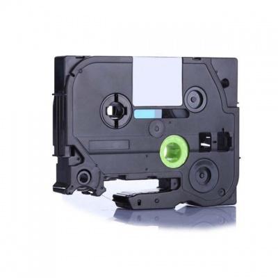 Kompatibilní páska s Brother TZ-911 / TZe-911, 6mm x 8m, černý tisk / stříbrný podklad