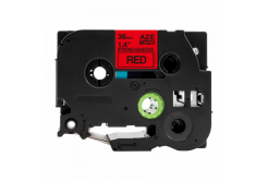 Kompatibilní páska s Brother TZ-S461 / TZe-S461, 36mm x 8m, extr.adh. černý tisk / červený
