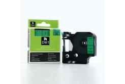 Dymo D1 45019, S0720590, 12mm x 7m černý tisk / zelený podklad, originální páska