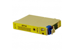 Epson T0714 žltá (yellow) kompatibilná cartridge