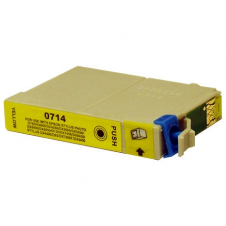 Epson T0714 yellow compatible cartridge
