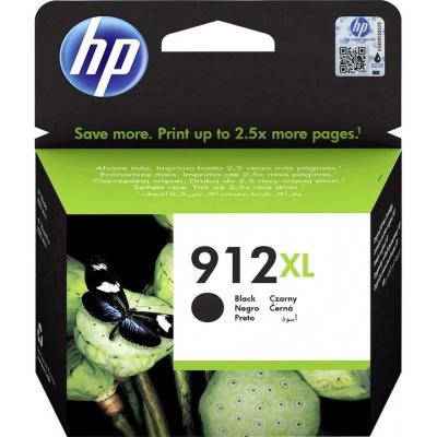 HP 912XL 3YL84AE černá (black) originální cartridge