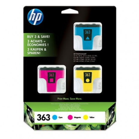 HP 363 CB333EE multipack eredeti tintapatron