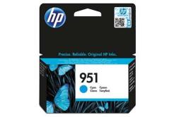 HP CN050AE, č.951 azurová (cyan) originální cartridge