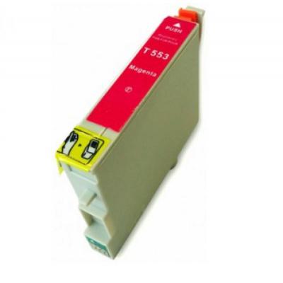 Epson T0553 purpurová (magenta) kompatibilní cartridge
