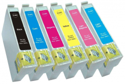 Epson T0807 multipack kompatibilní cartridge