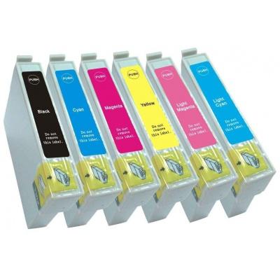 Epson T0807 multipack kompatibilní cartridge