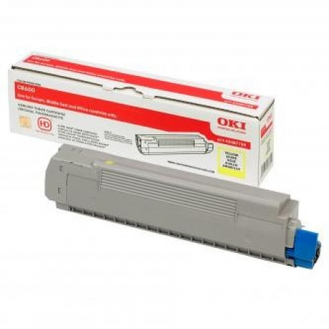 OKI 43487709 galben (yellow) toner original
