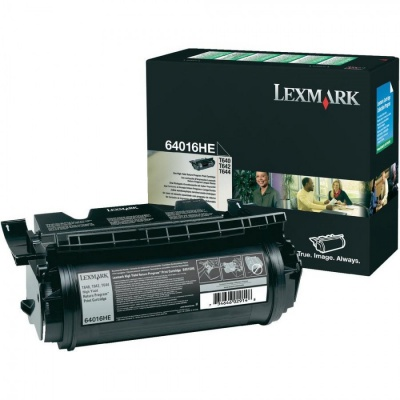 Lexmark 64016HE czarny (black) toner oryginalny