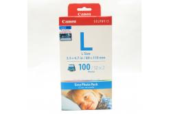 Canon E-L100, alb, 100 buc, 89x119mm, hőszublimációs hartie foto