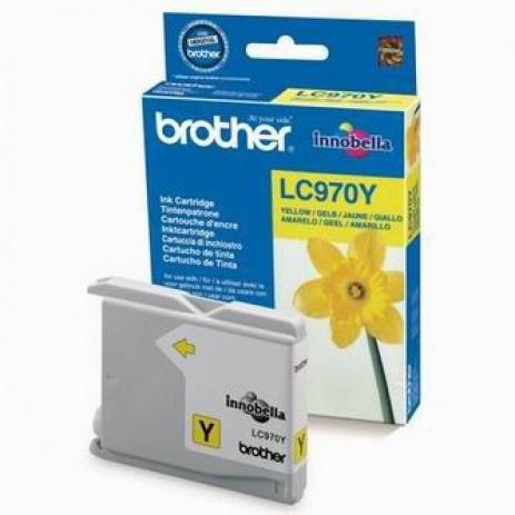 Brother LC-970Y sárga (yellow) eredeti tintapatron