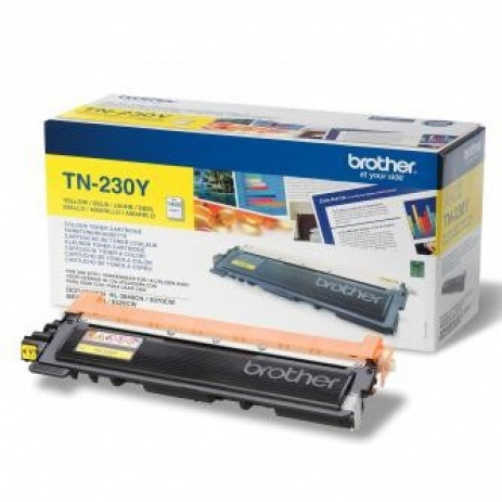 Brother TN-230Y yellow original toner