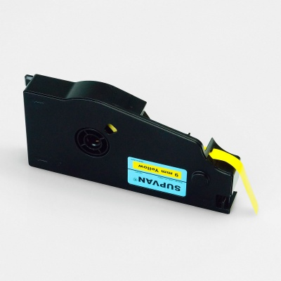 Samolepicí páska Supvan TP-L09EY, 9mm x 16m, žlutá