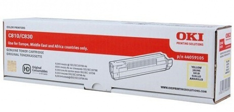 OKI 44059105 galben (yellow) toner original