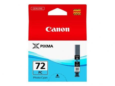 Canon PGI-72PC fotó cián (photo cyan) eredeti tintapatron
