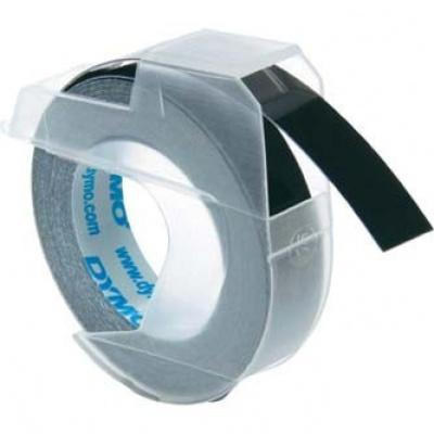 Dymo S0898130, 9mm x 3m, černý podklad, originální páska