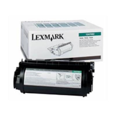 Lexmark 12A7468 černý (black) originální toner