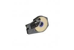 Kompatibilní samolepicí páska pro Canon M-1 Std/M-1 Pro, 12mm x 30m, kazeta, bílá