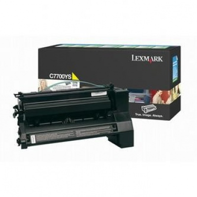 Lexmark C7700YS yellow original toner