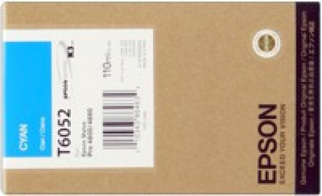 Epson C13T605200 cián (cyan) eredeti tintapatron