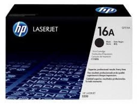 HP 16A Q7516A black original toner