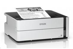 Epson tiskárna ink EcoTank Mono M1140, A4, 1200x2400dpi, 39ppm, USB, Duplex, 3 roky záruka po registraci