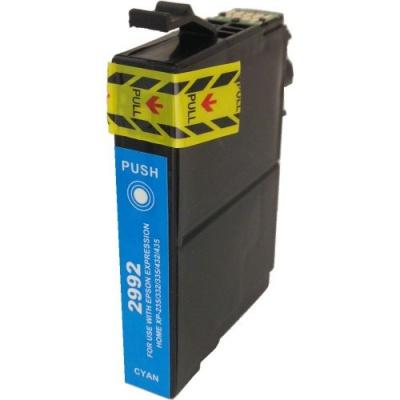 Epson T2992 azurová (cyan) kompatibilní cartridge