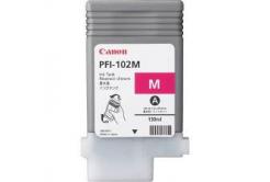 Canon PFI-102M, 0897B001 purpurová (magenta) originální cartridge
