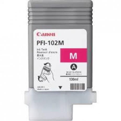 Canon PFI-102M, 0897B001 purpuriu (magenta) cartus original
