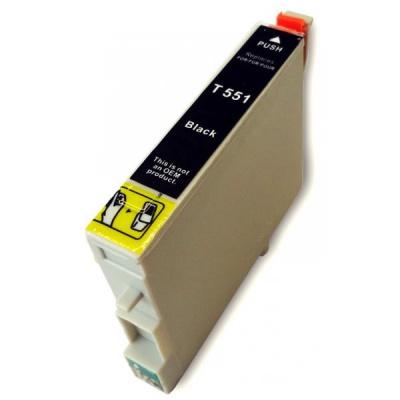 Epson T0551 černá (black) kompatibilní cartridge