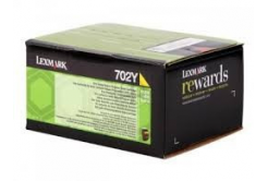Lexmark 70C20Y0 żółty (yellow) toner oryginalny