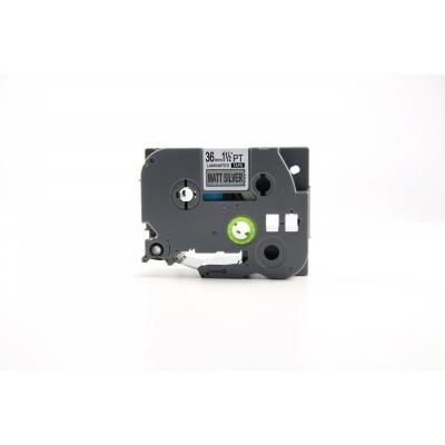 Kompatibilní páska s Brother TZ-M961 / TZe-M961, 36mm x 8m, černý tisk / stříbrný podklad