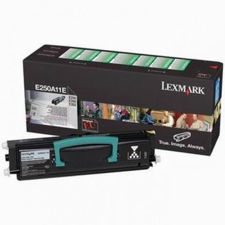 Lexmark E250A11E fekete (black) eredeti toner