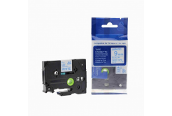 Kompatibilná páska s Brother TZ-223 / TZe-223, 9mm x 8m, modrá tlač / biely podklad
