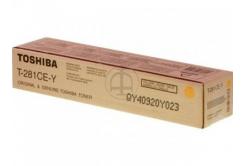 Toshiba T281CEY yellow original toner