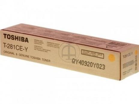 Toshiba T281CEY galben (yellow) toner original