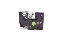 Kompatibilní páska s Brother HGe-221, 9mm x 8m, černý tisk/bílý podklad, vysokorychlostní
