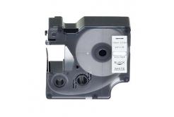 Kompatibilní páska s Dymo 18445, 19mm x 5, 5m černý tisk / bílý podklad, vinyl