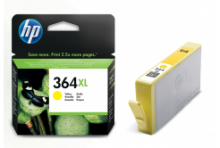 HP 364XL CB325EE žlutá (yellow) originální cartridge