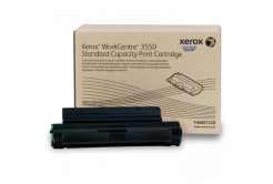 Xerox originální toner 106R01529, black, 5000str., Xerox WorkCentre 3550