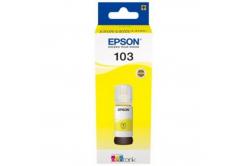 Epson 103 žlutá (yellow) originální cartridge