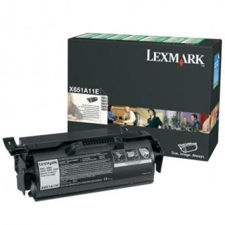 Lexmark X651A11E black original toner