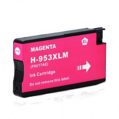 HP 953XL F6U17AE purpurová (magenta) kompatibilní cartridge