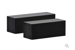 Evolis C8152 50x150mm PVC černé matné karty, 100ks