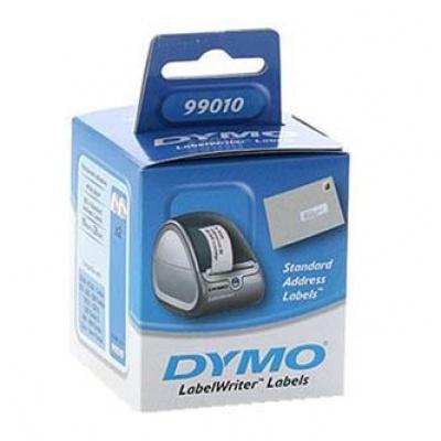 Dymo 99010, S0722370, 89mm x 28mm, białe, adresní etykiety papierowe oryginalne